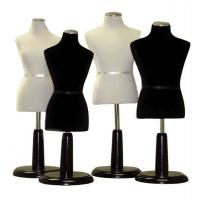 Buy cheap Female Miniature Dress Form Black from wholesalers
