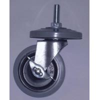 Buy cheap non marking wheels and bumpers, 2 with brake and 2 without 1 set = 4 pcs - 1 per box - GRAY from wholesalers