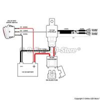 China 12 Volt Led Driving Lights Relay Wiring Diagram on sale