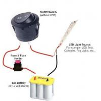 Buy cheap 12 Volt Lighted Switch Wiring Diagram from wholesalers