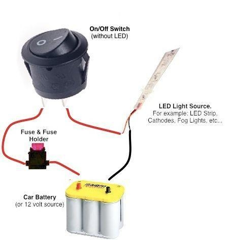 Quality 12 Volt Lighted Switch Wiring Diagram for sale