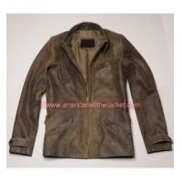 Buy cheap James Bond Skyfall Brown Leather Jacket from wholesalers