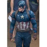 Buy cheap Captain America Civil War Leather Jacket from wholesalers