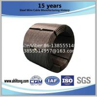 Buy cheap Steel Strand uncoated seven-wire for prestressed contrete from wholesalers