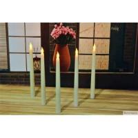 Buy cheap wholesale white candle ivory color battery operated flameless cemetery white led taper candle from wholesalers