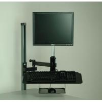 Buy cheap Monitor & Computer Accessories Flat Screen Monitor Arm W/ Keyboard And Mouse Tray from wholesalers