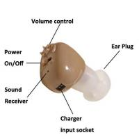 Buy cheap new rechargeable hearing aid min in the ear hearing aid from wholesalers