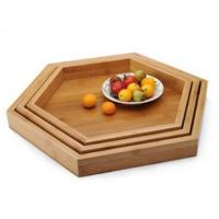 Buy cheap Bamboo Storage Bamboo Fruit Tray TZO1065 from wholesalers