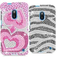 Buy cheap Diamond Dazzle Bling Phone Case for Nokia Lumia 620 from wholesalers