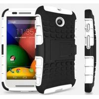 Buy cheap Rugged Case Cover with Stand for Motorola MOTO E from wholesalers