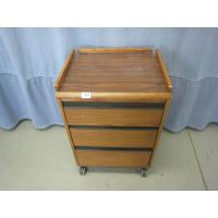 Buy cheap Exam/Office 3 Drawer Wooden Cabinet On Wheels from wholesalers