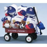 Buy cheap Personalized Baby Gifts Boys Deluxe Welcome Wagon Personalized Gift For Twins from wholesalers