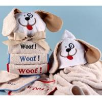 Buy cheap Personalized Baby Gifts Woof, Woof, Woof Baby Hooded Towel-Personalized from wholesalers