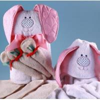 Buy cheap Personalized Baby Gifts Rabbit Hooded Towel Personalized Baby Gift from wholesalers