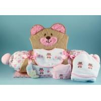 Buy cheap Unique Baby Gifts Quilted Bear Play & Changing Mat Layette Baby Girl Gift from wholesalers