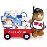 Buy cheap Unique Baby Gifts Super Deluxe Welcome Wagon Baby Boy Gift from wholesalers