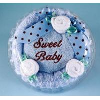 Buy cheap Unique Baby Gifts Sweet Baby Boy Hooded Towel Cake from wholesalers