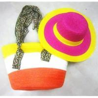 Buy cheap SWH-018 sunshine hat and beach bag set from wholesalers