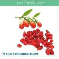 Buy cheap Improving Immunity Goji Extract/ Goji Berry Extract/ Barbury Wolfberry Fruit Extract from wholesalers