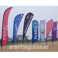 Buy cheap Custom Swooper Flags from wholesalers