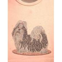 Buy cheap Christine Alexander plus size pink shirt crystal dog shih tzu or Lhasa apso size 3x only from wholesalers