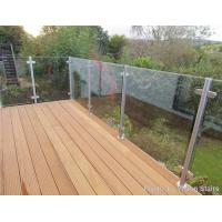 Buy cheap Glass balustrade garden glass balcony balustrade from wholesalers