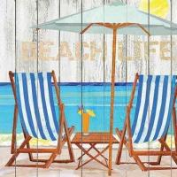 Buy cheap Beach Life Beverage Napkins (20) from wholesalers