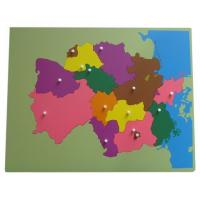 Buy cheap montessori MG018 Germany Puzzle Map from wholesalers