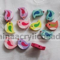 Buy cheap Mixed Color Printing bird fashion bracelet Wood Be--MZ015 from wholesalers