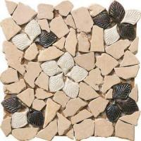 Buy cheap Random Size Mix Gold River Rocks Pebble Stone Mosaic Tile from wholesalers
