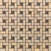 Buy cheap Indoor Decoration Art Design Nature Stone Mosaic Tile from wholesalers
