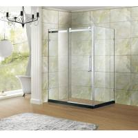 Buy cheap Competitive Price Screen Type Polished Tempered Glass With Hinge Enclosure from wholesalers