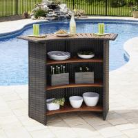 Buy cheap Outdoor Living PE Wicker Bistro Furniture Manufacturer in China from wholesalers