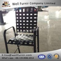 Buy cheap Well Furnir 2017 New Cross Strap Chair With Armrest from wholesalers