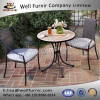 Buy cheap Outdoor&Indoor Home Styles Terra Cotta Mosaic 3 Piece Bistro Set Furniture from wholesalers