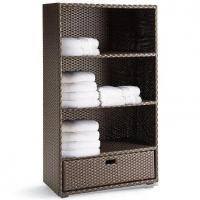 Buy cheap Rattan Bedroom Storage Cabinet Furniture for Bedroom, Living Room, Clothing Storages Closets from wholesalers
