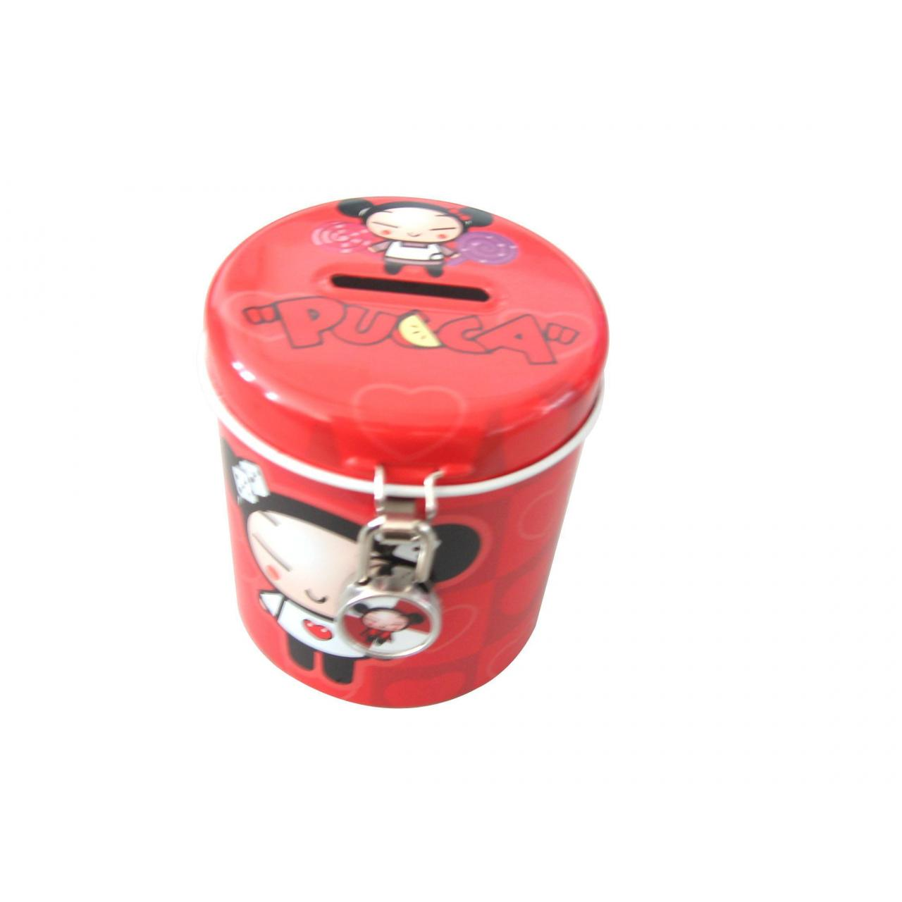 Stationery and CD Case Round Money Bank