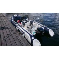 Buy cheap Rigid inflatable rib boat 480A from wholesalers