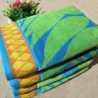Buy cheap 100% cotton 2 sides terry bath towel with dobby border and dobby hem from wholesalers