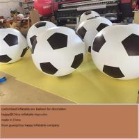 Buy cheap Inflatable Football Balloon For Decoration And Advertising Activities from wholesalers