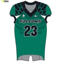 Buy cheap High Quality custom sublimated american football jerseys manufacuterers from wholesalers