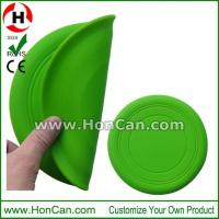 Buy cheap Wholesale custom printed logo foldable silicone frisbee from wholesalers