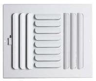 Buy cheap Commercial Grilles Sidewall/Ceiling Curved Register from wholesalers