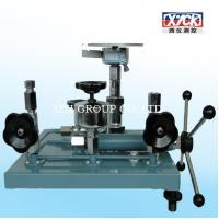 Buy cheap Dead Weight tester ( New Developed 2014 ), Best Quality, 6mpa dead weight pressure tester ISO90001 from wholesalers