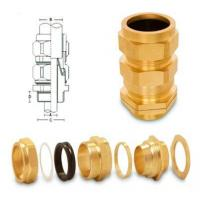 Buy cheap Aluminium Components Brass CW Cable Glands from wholesalers