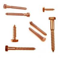 Buy cheap Aluminium Components Brass Lag Bolts from wholesalers