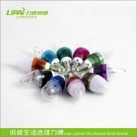 Buy cheap L701 E27E26 led candle lamp 3W 4W 5W colourful changing led bulb from wholesalers