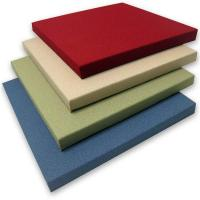 Buy cheap 25mm Straight edge fabric wrapped panels from wholesalers