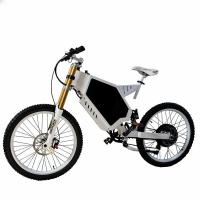 Buy cheap 3000W 72V Stealth Bomber Ebike Fighter Mountain Electric Bike from wholesalers