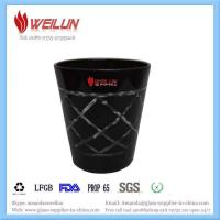 Buy cheap Glass printing cut black glass jar product